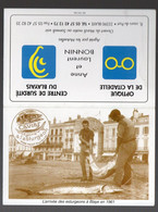 Blaye (33 Gironde) Arrivée Des  Esturgeons.  Calendrier 1961 BONNIN Optique-surdité (PPP27237) - Small : 1961-70