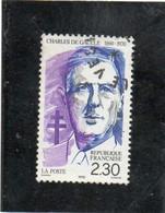 FRANCE   1990 Y.T. N° 2634  Oblitéré - Oblitérés