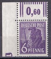 All. Besetzung Gemeinschaftsausgabe 1947 - Mi.Nr. 944 DZ - Postfrisch MNH - Druckerzeichen - Zona AAS