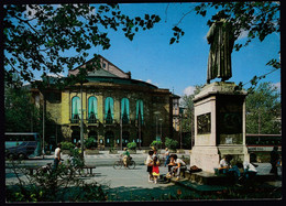 Germany Mainz 2001 / Theater And Gutenberg Denkmal, Monument - Mainz