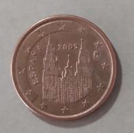 2005 - SPAGNA   - MONETA IN EURO -  VALORE  5   CENTESIMI   - CIRCOLANTE - Spanien