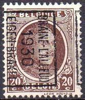 N° 5492B BRAINE-L'ALLEUD 1930 EIGEN-BRAKEL - Roller Precancels 1930-..