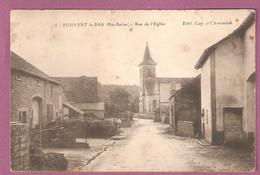 Fouvent Le Bas Rue De L'église  - Gay Et Chevroulet - Andere Gemeenten