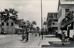 T.P. CIRCULADA , SURINAME / SURINAM ,  PARAMARIBO - HOOFDSTRAAT , BLOOKER CACAO - Surinam