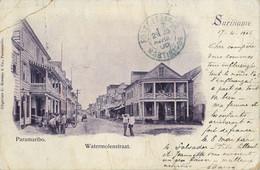 1905 T.P. CIRCULADA , SURINAME / SURINAM ,  PARAMARIBO - WATERMOLENSTRAAT - Surinam