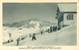 74 - La Clusaz - Sommet De La Gare D' Arrivée Du Télé Traineau  T 2087 - La Clusaz
