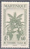 MARTINIQUE   SCOTT NO  J33   MINT HINGED    YEAR 1933 - Neufs