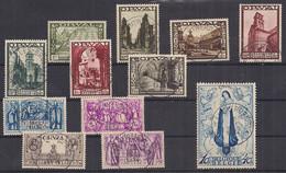 Belgium – Série Grande Orval (n°363-74) Oblitérée - Used Stamps