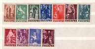 1947  Au Benefice Des  Artistes Dramatiques  11 V.-MNH  BULGARIA  / Bulgarie - Unused Stamps