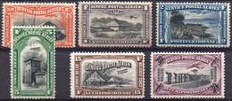 CONGO BELGE - PA1/4 + PA5/6 X  (neufs Avec Charnières - Mint Hinged) - Airmail: Mint/hinged