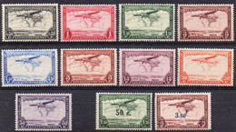 CONGO BELGE - PA7/15 + PA16/17 X  (neufs Avec Charnières - Mint Hinged) - Airmail: Mint/hinged