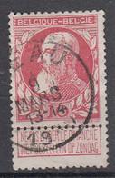 BELGIË - OPB - 1905 - Nr 74 - T1 L (LEAU)  - COBA + 4.00 € - 1905 Breiter Bart