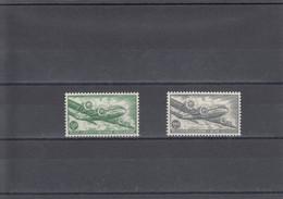 PA10A/11A ** (MNH) Langer Zegelbeeld En Wit Papier - OBP € 400 - Poste Aérienne
