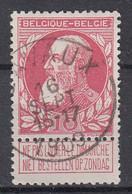 BELGIË - OPB - 1905 - Nr 74 - T1 L (LAVAUX)  - COBA + 4.00 € - 1905 Breiter Bart