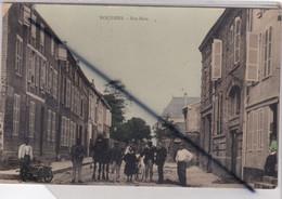Challerange (08) Rue Bara (carte Couleur Et Glacée, Personnages Et Un Cheval) - Other Municipalities