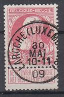 BELGIË - OPB - 1905 - Nr 74 - T1 L (LAROCHE(LUXEMBOURG))  - COBA + 4.00 € - 1905 Breiter Bart
