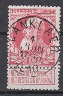 BELGIË - OPB - 1905 - Nr 74 - T1 L (LANKLAER)  - COBA + 4.00 € - 1905 Breiter Bart