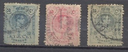 España, 1909/22, Usado Edifil 272,246 Y 277 - Oblitérés