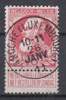 BELGIË - OPB - 1905 - Nr 74 - T2 L (LA ROCHE(LUXEMBOURG))  - COBA + 4.00 € - 1905 Breiter Bart