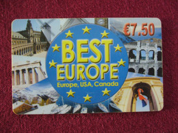 Telecarte  / Carte Prepayée   /  Best Europe - Tarjetas Prepagadas: Otras