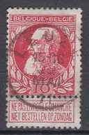BELGIË - OPB - 1905 - Nr 74 - T2 L (LEUZE)  - COBA + 4.00 € - 1905 Breiter Bart