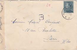 BELGIQUE  LETTRE POUR LA FRANCE   MARQUE  DE CENSURE 1941 - Cartas