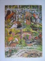 België Belgique 2004 Week Van Het Bos Semaine De La Fôret Oiseaux COB BL 115 3312-3315 Yv 3300-3303 Bloc 105 MNH ** - Bloques 1962-....