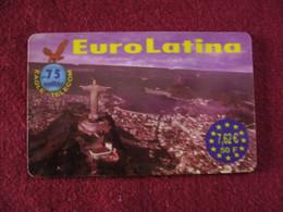 Telecarte  / Carte Prepayée   / Euro Latina - Tarjetas Prepagadas: Otras