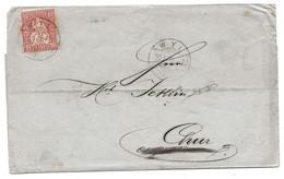 20 -  37 - Lettre Envoyée De Wyl 1870 - Briefe U. Dokumente