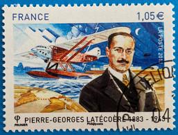 France 2013  : Pierre-Georges Latécoère, Entrepreneur Français N° 4794 Oblitéré - Usati