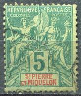 SAINT PIERRE ET MIQUELON - Y&T  N° 62 (o) - Used Stamps