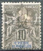SAINT PIERRE ET MIQUELON - Y&T  N° 63 (o) - Used Stamps