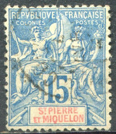SAINT PIERRE ET MIQUELON - Y&T  N° 64 (o) - Used Stamps