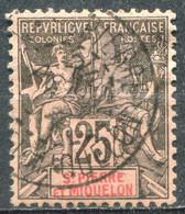 SAINT PIERRE ET MIQUELON - Y&T  N° 66 (o) - Used Stamps