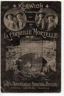 """Cycles """"Launeau"""" Nantes- Publicité- La Corbeille Mortelle - Nantes"""
