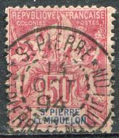 SAINT PIERRE ET MIQUELON - Y&T  N° 69 (o) - Used Stamps