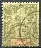 SAINT PIERRE ET MIQUELON - Y&T  N° 71 (o) - Used Stamps