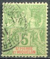 SAINT PIERRE ET MIQUELON - Y&T  N° 72 (o) - Used Stamps