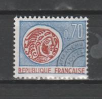 FRANCE / 1964-1969 / Y&T PREO N° 129 ** : Monnaie Gauloise 70c - Gomme Intacte - 1964-1988