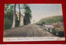 DINANT - Route De Dinant Vers Bouvignes  -  Bords De La Meuse - Dinant