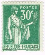 France, N°280 Type Paix - Nuevos