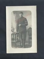 MILITARIA CARTE PHOTO MILITAIRE SOLDATS SOUVENIR DE CAPTIVITÉ POILU JULES LALLEMAND LORIENT MORBIHAN : - Guerre 1914-18