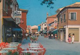 CAORLE-VENEZIA-INSEGNA BIRRA=ITALA PILSEN=RIO TERRÀ-CENTRO STORICO-CARTOLINA VERA FOTOGRAFIA- VIAGGIATA IL 15-6-1982 - Venezia (Venedig)