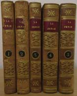 RARE - La PERSE Ou Tableau De L'histoire, Du Gouvernement , Etc...,- 5 Volumes - Amable JOURDAIN - 1814 - 1801-1900