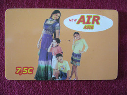 Telecarte  / Carte Prepayée   / Air Asie - Tarjetas Prepagadas: Otras