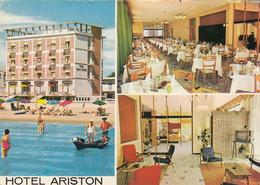 CAORLE-VENEZIA-HOTEL=ARISTON=-CARTOLINA VERA FOTOGRAFIA- VIAGGIATA IL 18-7-1964 - Venezia (Venice)