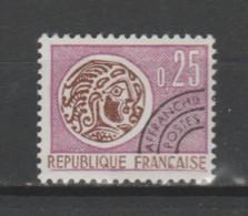 FRANCE / 1964-1969 / Y&T PREO N° 126 ** : Monnaie Gauloise 25c - Gomme Intacte - 1964-1988
