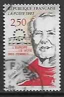 FRANCE    -    1993.  Y&T N° 2809 Oblitéré.  Louise Weiss.  L' Europe, Le Vote Des Femmes .... - Oblitérés
