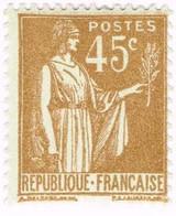 France, N°282 Type Paix - Nuevos