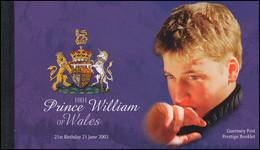 Guernsey Markenheftchen 46 Geburtstag Von Prinz William Von England ** - Guernsey